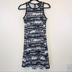 Mossimo Black & White Abstract Dress - #1262